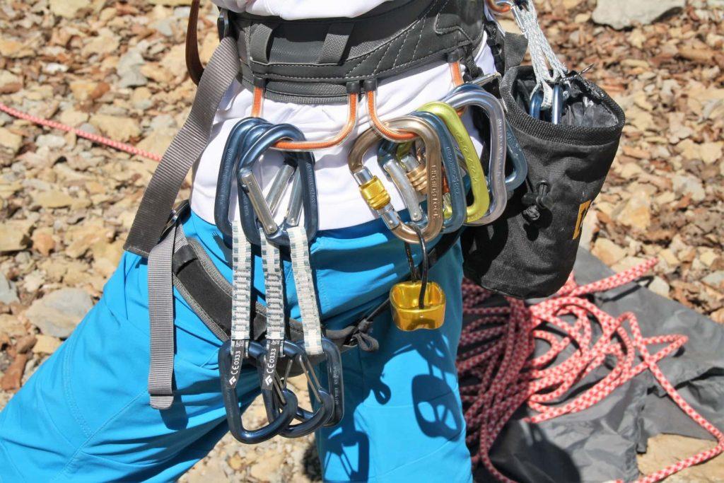 Ausrüstung beim Klettern