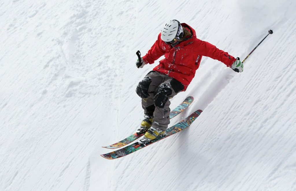 Alpin-Skifahrer
