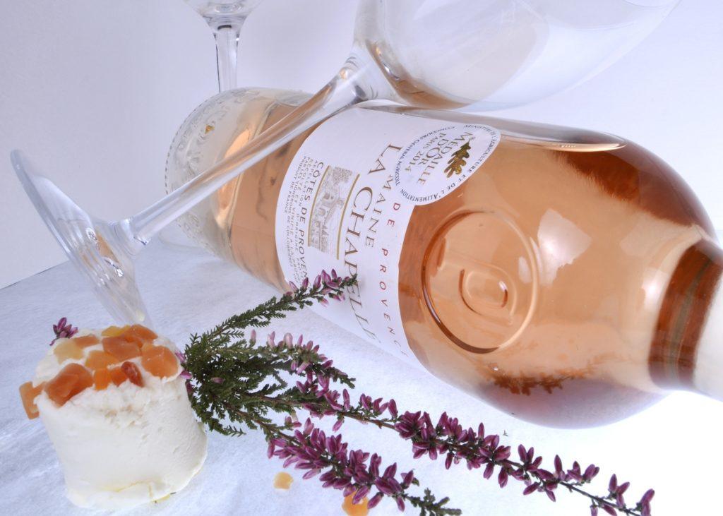 Flasche Roséwein