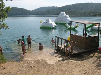 Kinderabenteuer am Lac St. Cassien