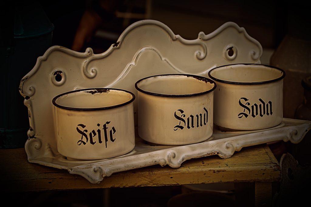 antikes Schalen-Set
