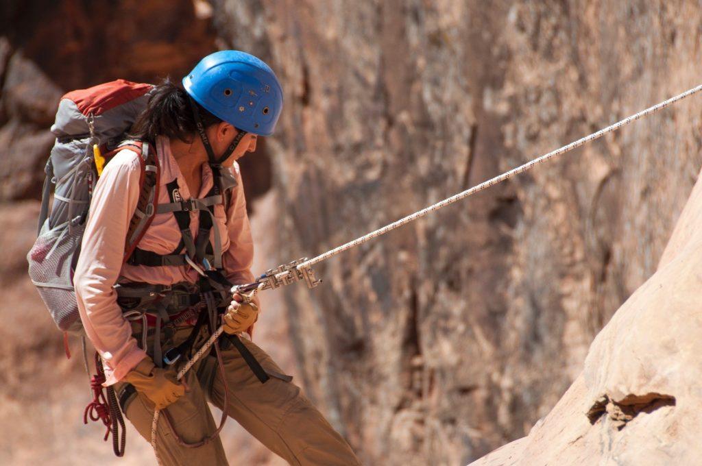Klettern in der Verdon-Schlucht
