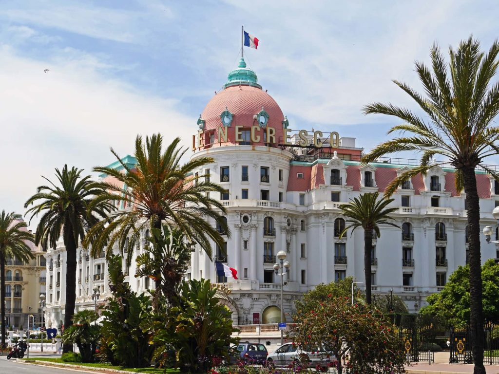 Negresco-Hotel in Nizza