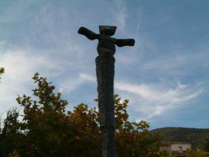 Skulptur von Max Ernst in Seillans