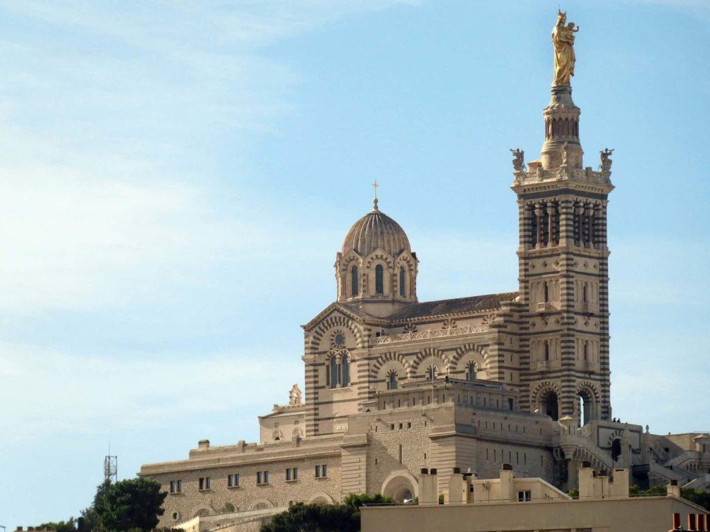 Basilika Notre-Dame de la Garde in Marseille