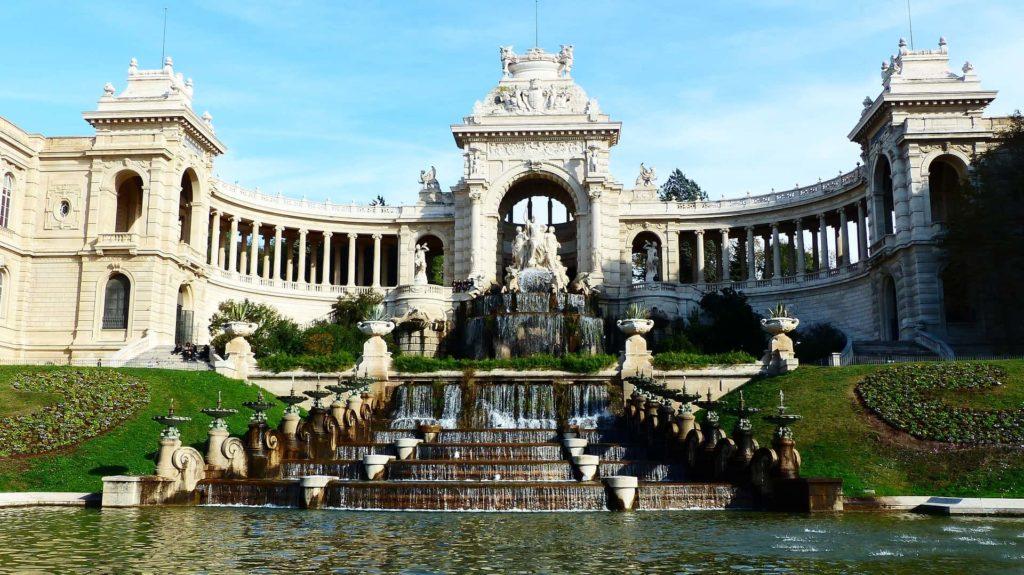 Palais Longchamp in Marseille