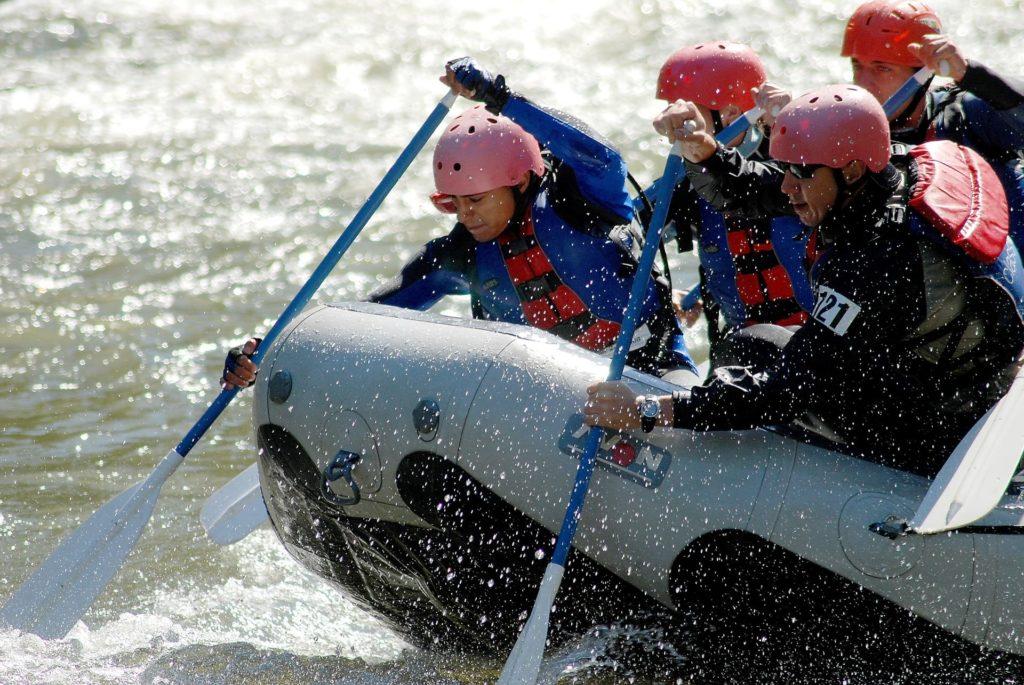 Verdon: Rafting auf Wildwasser